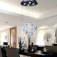 linear crystal chandelier view in gallery modern
