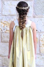 Goddess Hair Style twist faux braid halloween hairstyles cute girls hairstyles 3053 by wearticles.com