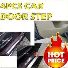 car door step interior protection film car stickers