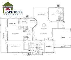 small spanish villa house plans floor plan interesting modern pdf within in 11