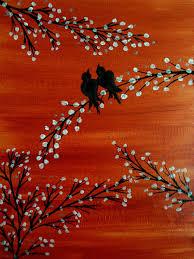 love bird painting bird lover christmas sale canvas wall art original acrylic painting canvas art lovers art tree art rustic wall decor on wall art lovers with love bird painting bird lover christmas sale canvas wall art