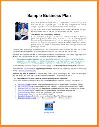 small business plans examples esthetician business plan example sample best small template ideas