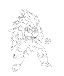 Coloring Pages Dragon Ball Z Vegeta Drawing At Getdrawings Com