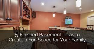 Finish Basement Design Custom 48 Finished Basement Ideas To Create A Fun Space For Your Family