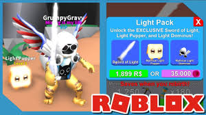Roblox Mining Simulator Light Pack Buying New Light Pack In Roblox Mining Simulator