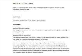 Letters Writing In For Reference Format Request - Letter English Images