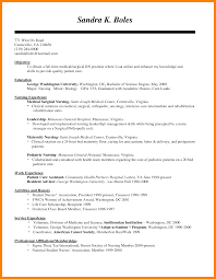 8 Medical Surgical Nursing Resume New Hope Stream Wood
