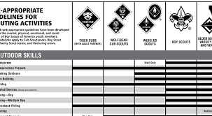 Tiger Advancement Chart Tiger Cub Scout Advancement Chart 2019
