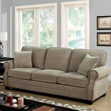 chenille fabric sofa. Modren Sofa Lynne Transitional Style Chenille Fabric Sofa Brown Throughout Sofa U