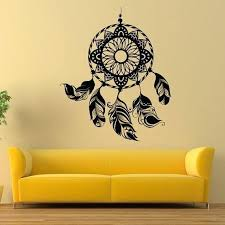 wall vinyl stickers ideas wall vinyl decal simple great themes dream catcher feather interior fabulous wall vinyl