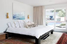 white shiplap paneled bedroom with ocean waves wall art  on wall art frames for bedroom with 4 fixes for the blank space above your bed wayfair