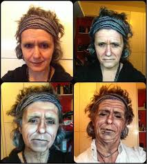 female makeup artist transforms herself into male celebrities and characters includes slideshow makeup amazing makeup transformationkeith