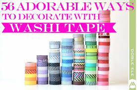 Best Masking Tape For Decorating 100 Adorable Ways To Decorate With Washi Tape ViralSocialBuzz 41