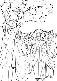 Can you spot the difference between these two story of zacchaeus bible illustrations? Jesus Calling Zacchaeus To Come Down From The Tree Bible Coloring Page Love Coloring Pages Zacchaeus Bible Coloring Pages