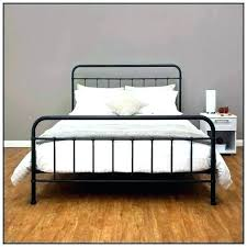 Antique Wrought Iron Bed Frame Queen Cast Frames Best Metal Home ...