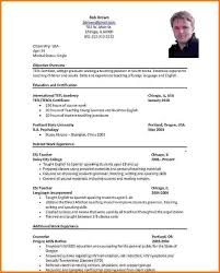 Gallery Of Resume Format Formal Resume Template Official Resume