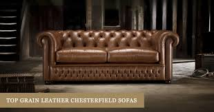 discover a stunning collection of top grain leather chesterfield sofas here at timeless chesterfields we craft our couches by hand using only the finest