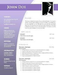 Download Resume Templates Word Resume Format Template Free Download