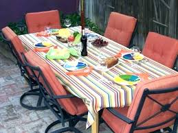 round outdoor tablecloth impressive with umbrella hole hats off pertaining to tablecloths vinyl rectangle fitted