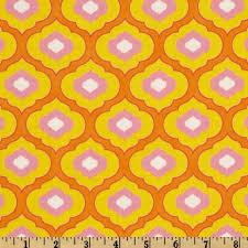 100 best Fabric Love images on Pinterest | Wallpaper, Animal ... & Pretty Little Things Ella Orange - Discount Designer Fabric - Fabric.com Adamdwight.com