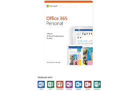 Microsoft Office 365 Personal 1 User 1 Year Subscription Ireland
