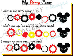 11 Best Photos Of Mickey Printable Potty Chart Mickey
