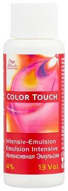Купить Wella Professionals <b>Color Touch эмульсия</b>, 4%, 60 мл по ...