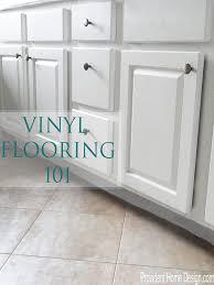 vinyl flooring 101