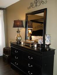 Southern Charm: Idea for painting long dresser, frame mirror to match