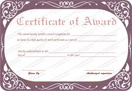 Best Performance Award Certificate Best Work Performance Award Certificate Template
