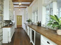 White Country Galley Kitchen Inspirational 92 French Country Galley
