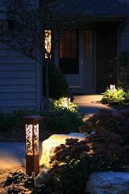 garden lighting bollards. Vine Garden Lighting Bollards