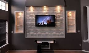 led tv wall panel designs 40 stylish