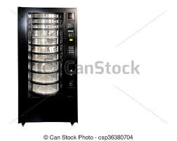 Empty Vending Machine Inspiration Vintage Old Empty Soda Vending Machine Isolated On White With Copy
