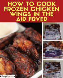 cook frozen en wings in the air fryer