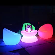 light up patio furniture illuminated