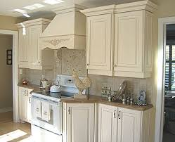 Small French Country Kitchens French Country Kitchen Cabinets Design Photo