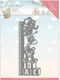 Growth Scan Chart Welcome Baby Growth Chart Craft Die Die Cuts Baby