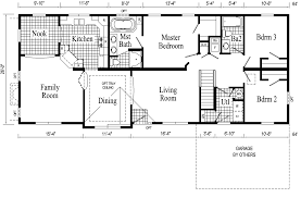 T Ranch House Floor Plans Home Mansion