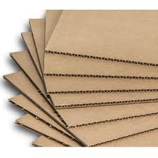 corrugated sheet is manufactured to order in c b b c flutes its mainly of made of 3 5 or 7 ply it can be made to various grades depending on