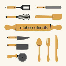 kitchen utensils images. Kitchen Utensils Collection Free Vector Images