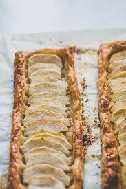 easy puff pastry apple tart pretty