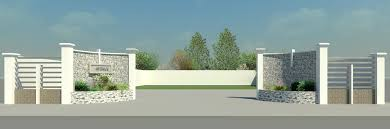 Small Picture compound wall Autodesk Revit 3D CAD model GrabCAD