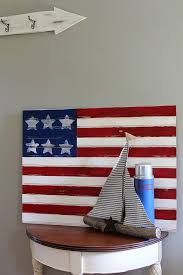 easy american flag craft house of hawthornes