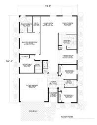 Small Picture 1400 Sq Ft House Plan 14 001 310 from Planhouse Home Plans