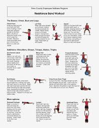 Stretch Band Loops Exercise Chart Printable Resistance Band Chart Www Bedowntowndaytona Com