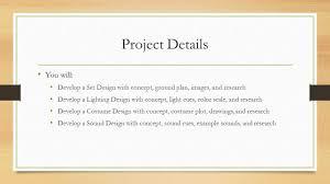 Light Cues In Script Theatre Design Role Of Technical Design Theatre Design