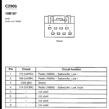 2002 ford escape radio wiring diagram all wiring diagram 2002 ford escape radio wiring diagram