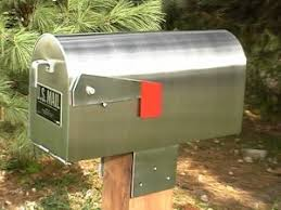 mailbox. Our Small Stainless Steel Model Mailbox