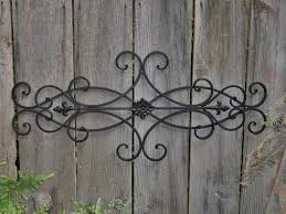 decor wrought iron and wood wall decor astonishing collection of large wrought iron wall art pict